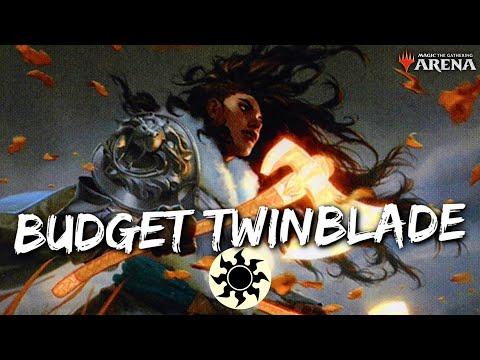 Repeat BUDGET TWINBLADE [MTG Arena] | Mono-White Lifegain
