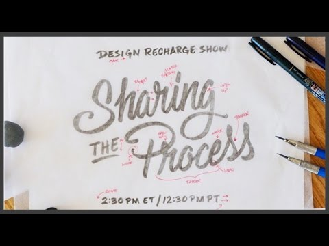 THE DESIGN RECHARGE SHOW: Bob Ewing // Sharing the Process