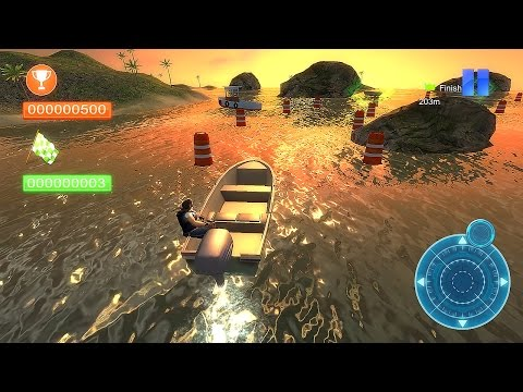 Speed Boat Parking 3D 2015 - Gameplay Android