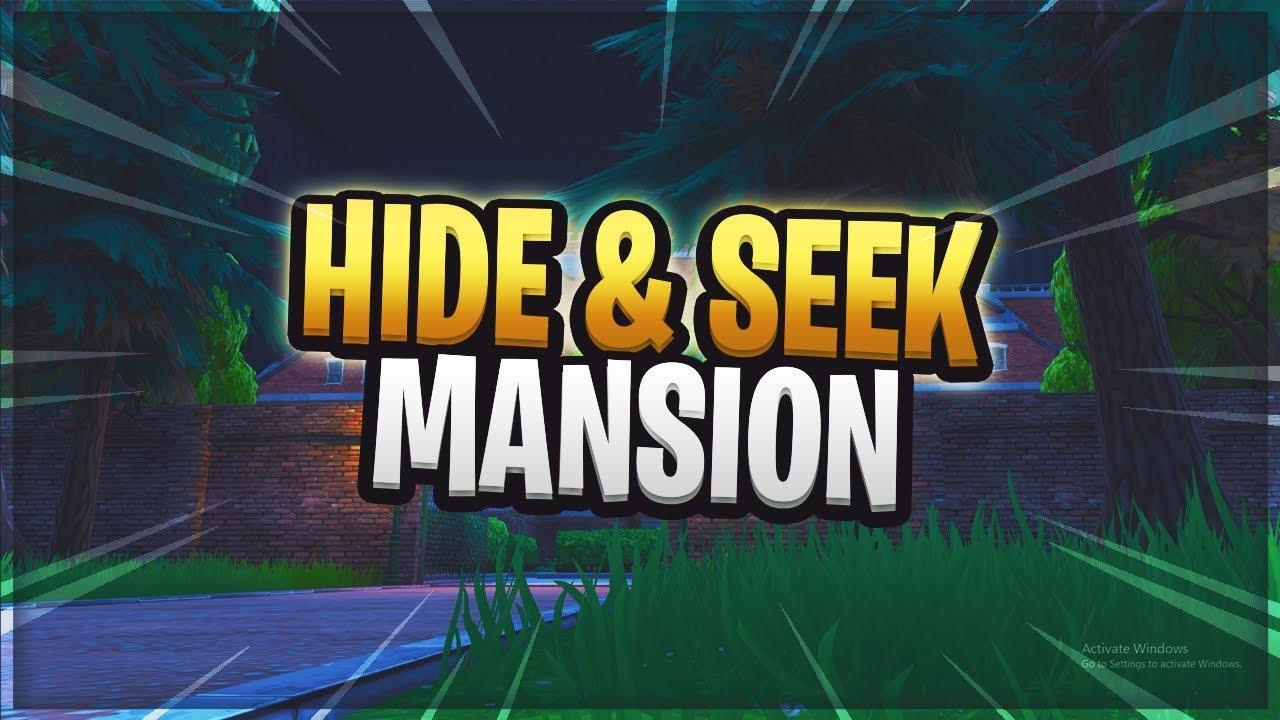 Fortnite Hide And Seek Mansion Map Fortnite Creative Mode Custom Maps Island Code