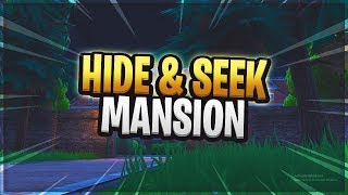 Fortnite Hide and Seek Mansion Map! - Fortnite Creative Mode Custom Maps (Island Code)