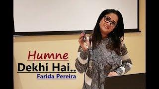 Humne Dekhi Hai In Aankhon Ki Mehakti Khusboo | Farida Pereira | Cover Song|Lata Mangeshkar|Khamoshi