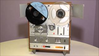 Ramones 8-track tape on a 1969 Akai X-1800SD reel recorder