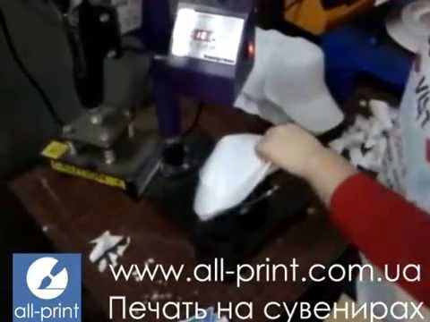 видео: Печать на кепках, кепки с логотипом