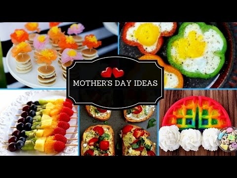 💗Easy Last Minute DIY Mother's Day  Breakfast And Brunch Ideas 2017💗