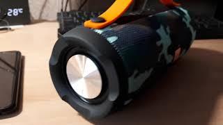 M & J Charge E13 Bluetooth Динамик - мини обзор гаджета из китая