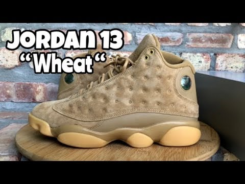 "b1beb79d60fc Air Jordan 13 ""Wheat"" review from  ChampsSports - YouTube"