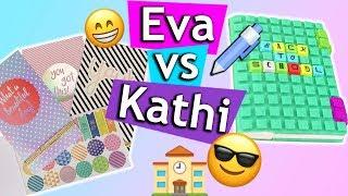 Back to School 2018 MUST HAVES | Eva & Kathis Haul mit coolen Schulsachen DIY Sonntagschallenge #176