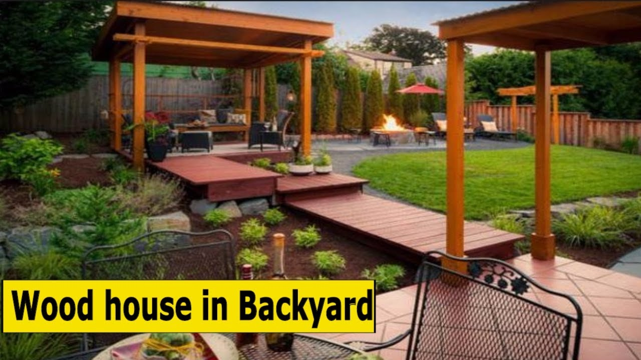 10 wood house in backyard desigin idea 2017 youtube