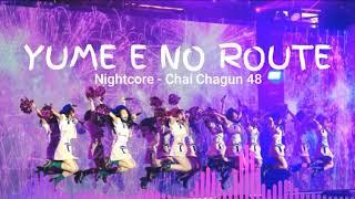 BNK48 - Yume e no Route (หมื่นเส้นทาง) - Rock + Nightcore