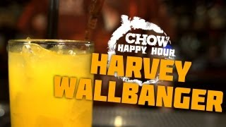 The Harvey Wallbanger And Fern Bar Cocktails - Chow Happy Hour