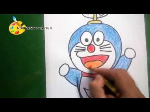 Vẽ  Doremon/How to Draw Doraemon