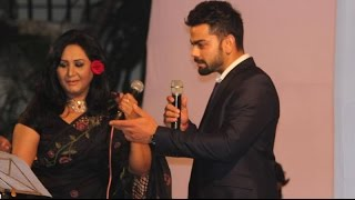 VIRAT KOHLI SINGING Jo Wada Kiya Woh Nibhana Padega! Is Anushka Sharma listening?