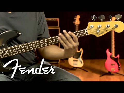 Fender Modern Player Jazz Bass Demo
