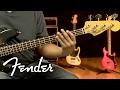 Fender Modern Player Jazz Bass Demo   Fender
