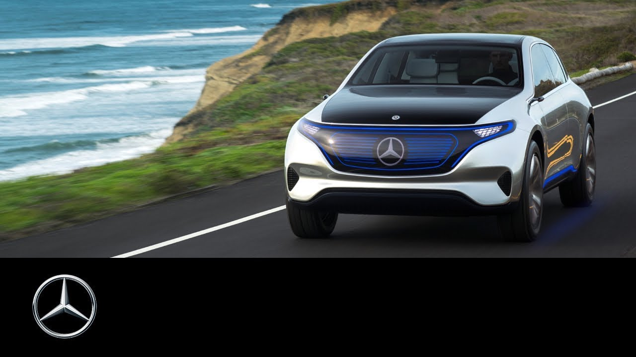 hight resolution of mercedes benz concept eq at the 147th open