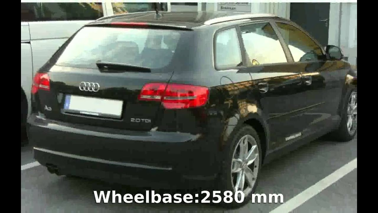 2005 audi a3 sportback 2 0 tdi specs details youtube. Black Bedroom Furniture Sets. Home Design Ideas
