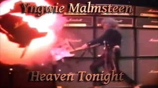 Yngwie Malmsteen 3D - HD - Dolby Digital 5.1 *Heaven Tonight* (Official Video)