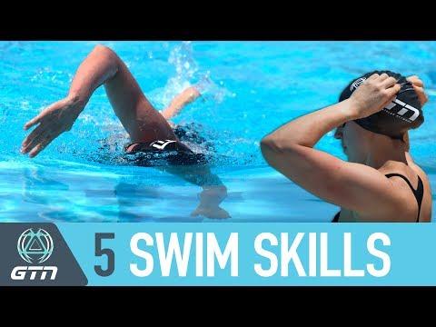 Top 5 Essential Swim Skills To Master | Triathlon Swimming Tips For Beginners