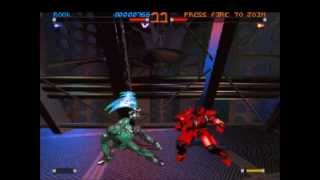 Rise of the robots 2 / Rise 2 Resurrection Gameplay PS1