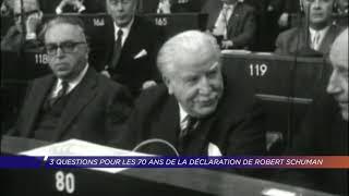 Yvelines | 70 ans de la déclaration de Robert Schuman
