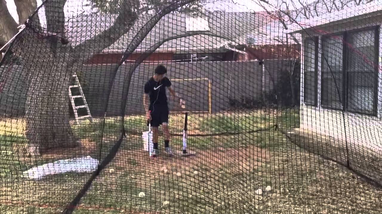 Backyard Batting Cage Heater Extender
