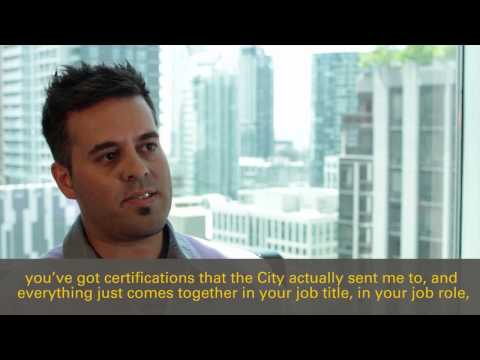 City of Toronto IT Jobs Employee Testimonial - Mike