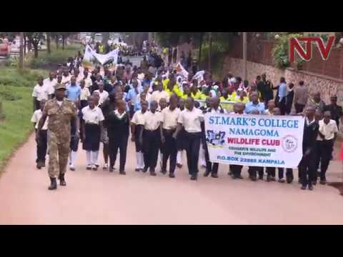 UWA and KCCA launch a wildlife street in Kampala as part of world wildlife day