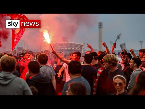 Liverpool fans' behaviour condemned by club and city authorities