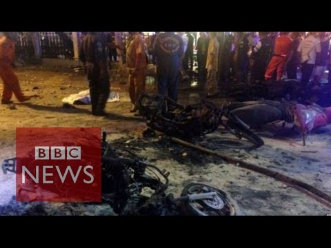 Bangkok bomb: At the scene of the deadly explosion - BBC News