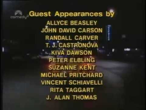 TAXI theme and end credits