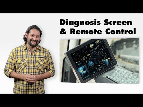 Liebherr  Diagnosis Screen + Remote Control