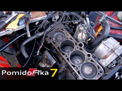 Вскрываем мотор мертвеца - Audi 80
