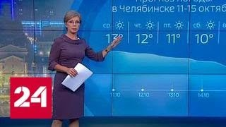 """Погода 24"": антициклон накрыл Челябинск смогом - Россия 24"