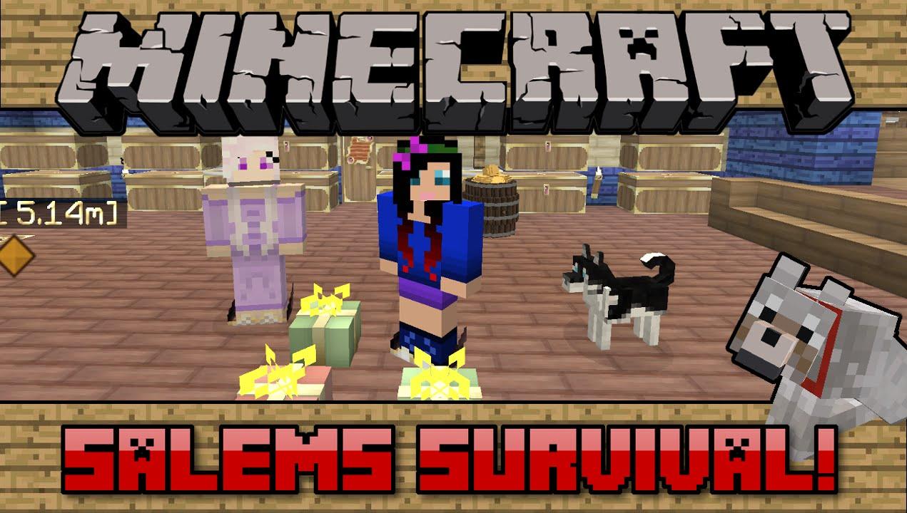 Squishy survival 9 -  101 Salems Survival Minecraft Pc