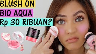 PERANG MAKEUP : BIOAQUA AIR CUSHION VS BIOAQUA CHIC TRENDY Rp 30RiBUAN!
