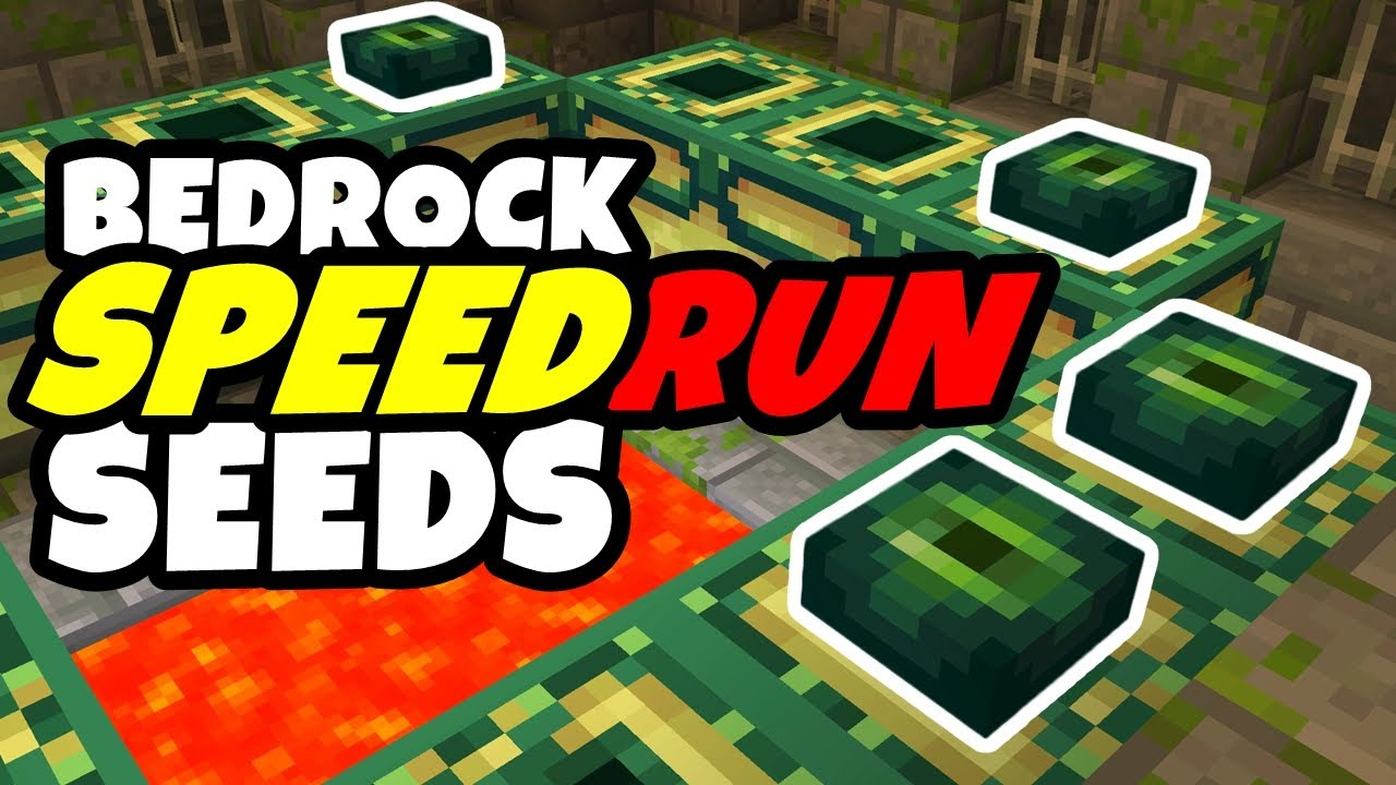 The Best SPEEDRUN SEEDS For Minecraft Bedrock Edition 1.16! (Pocket Edition, Xbox, PS4, Switch, W10)
