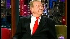 Rodney Dangerfield on Jay Leno Tonight Show Aug 2001