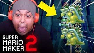 THESE LEVELS ARE 100% CURSED! [SUPER MARIO MAKER 2] [#46]