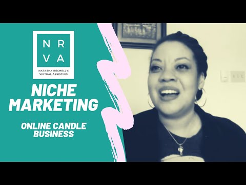 Niche Marketing – Online Candle Business
