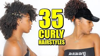 35 CURLY HAIRSTYLES (Natural Hair)