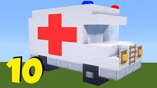 10+ BEST Hospital Build Hacks in Minecraft easy