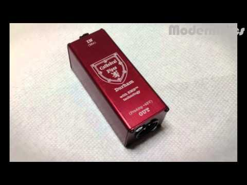 NEW DURHAM Ribbon / Dynamic Microphone Buffer Amp by Cathedral Pipes Microphones
