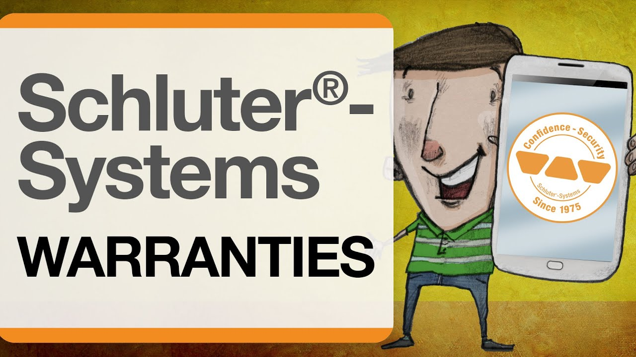 Schluter®-Systems Warranties