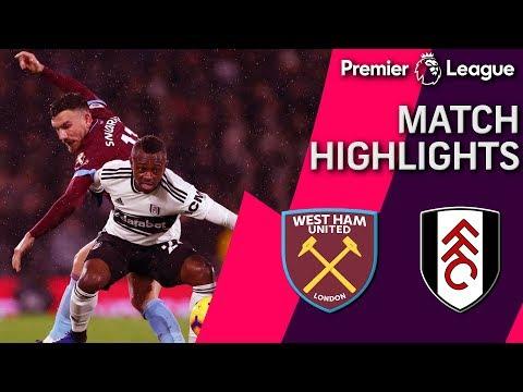 Fulham v. West Ham   PREMIER LEAGUE MATCH HIGHLIGHTS   12/15/18   NBC Sports