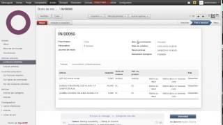 OpenERP - Bon de commande _ Bon de réception _ Facture fournisseur
