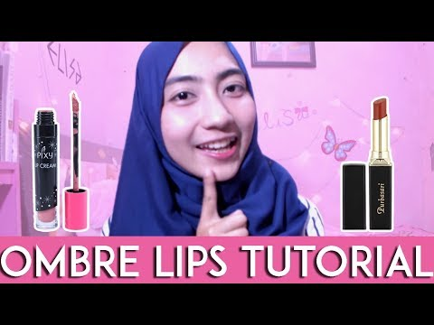 tutorial-ombre-lips-pixy-lip-cream-x-purbasari-matte-by-elisa