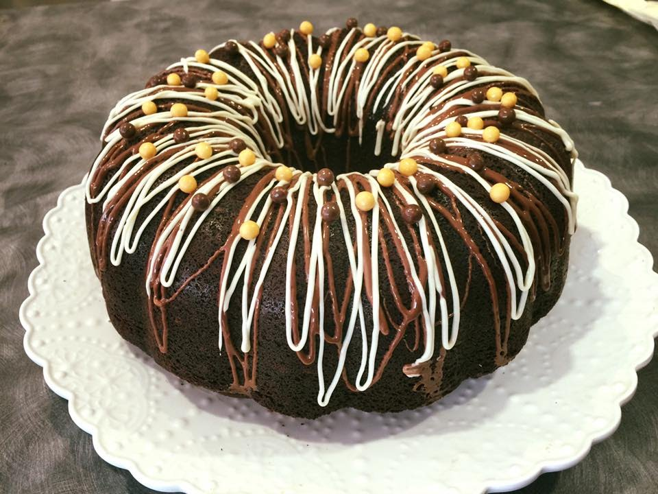 Cream Filling Chocolate Cake Bunt