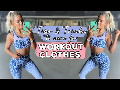 HOW TO MAKE YOUR GYM WEAR LAST! PILLING, WASHING