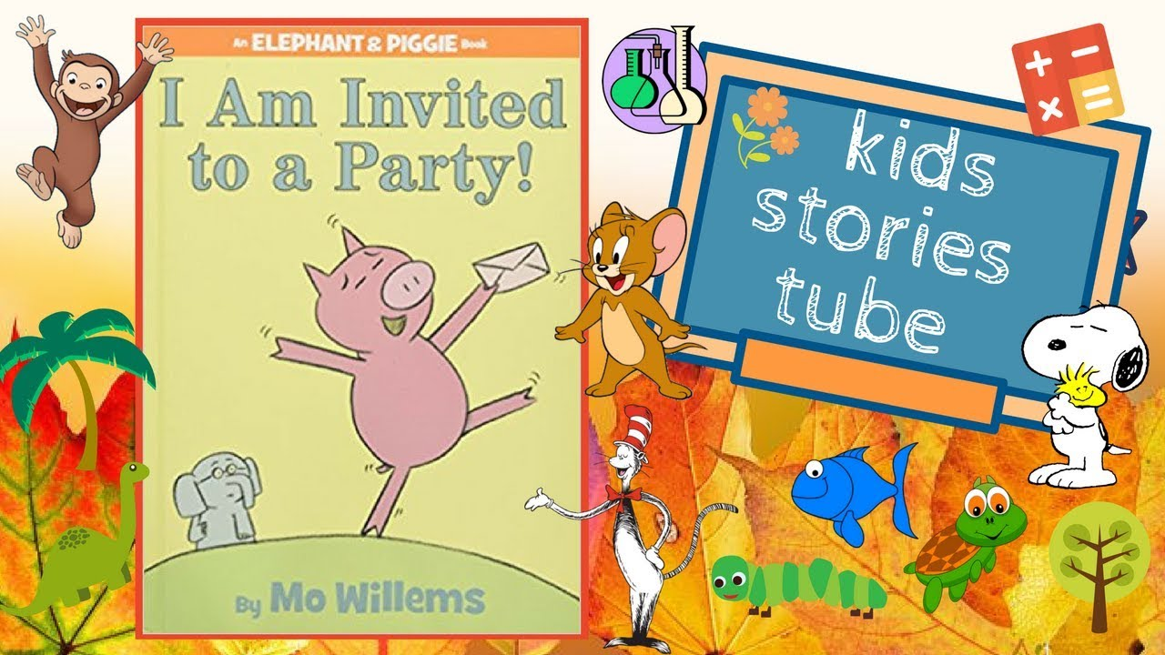 i am invited to a party by mo willems english children s books
